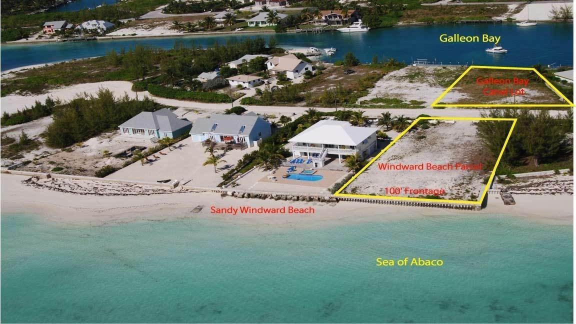 Lots / Acreage for Sale at Windward Beach, Treasure Cay, Abaco Bahamas