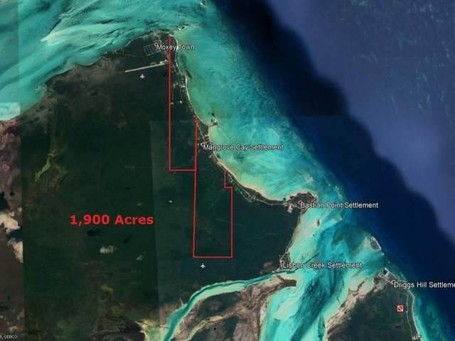 Lots / Acreage for Sale at Mangrove Cay, Andros Bahamas