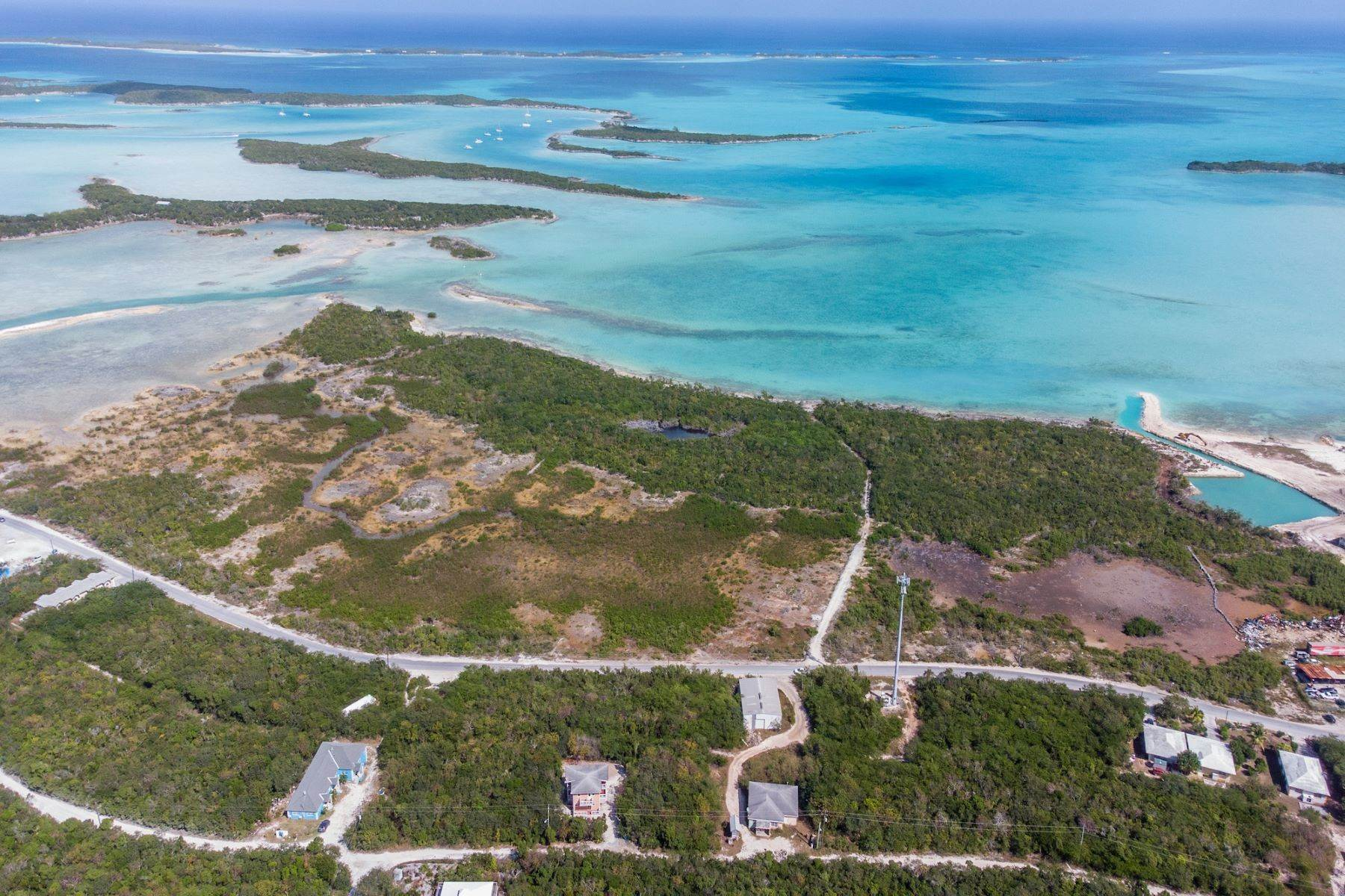 Land for Sale at 22.21 Acres in Master's Harbour Other Exuma, Exuma Bahamas