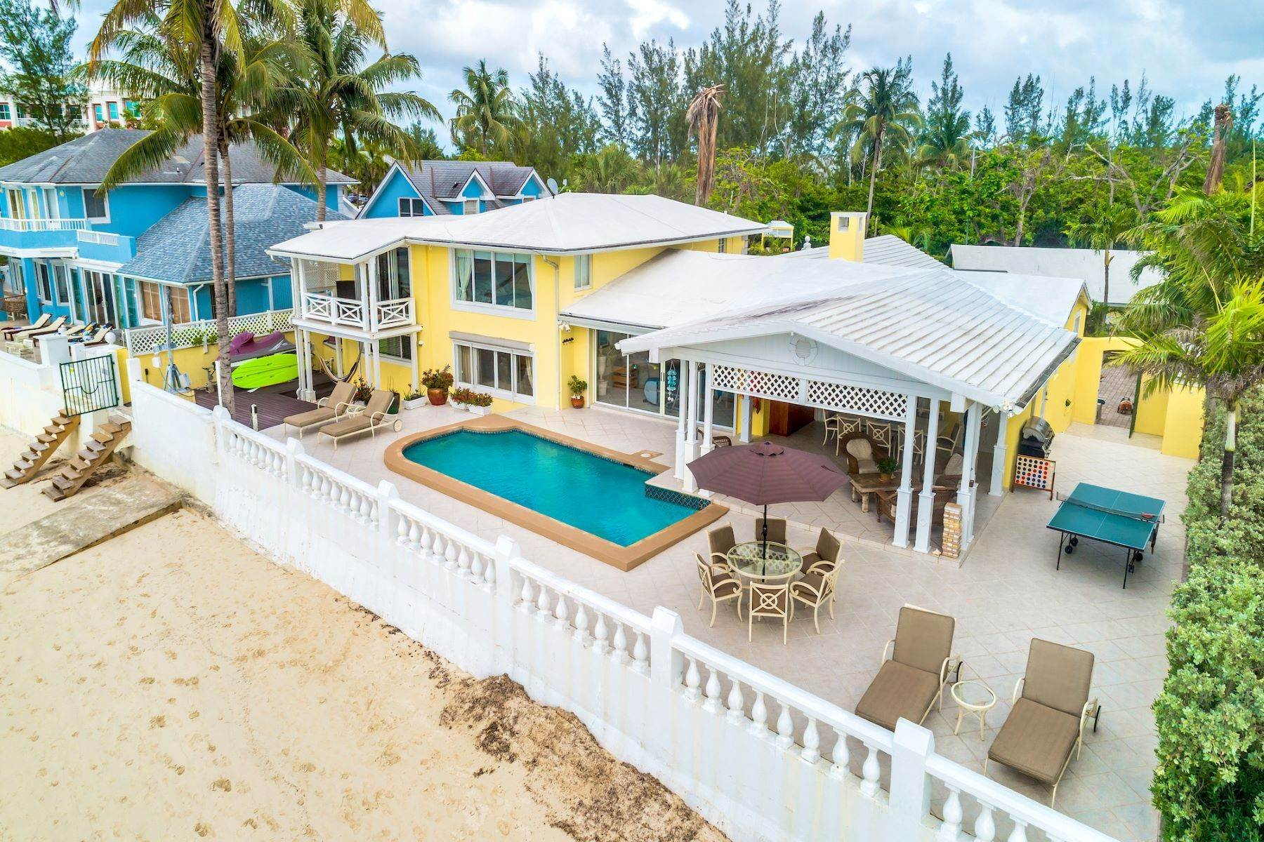 Single Family Homes for Sale at Shangri-La Beachfront Estate Cable Beach, Nassau And Paradise Island Bahamas