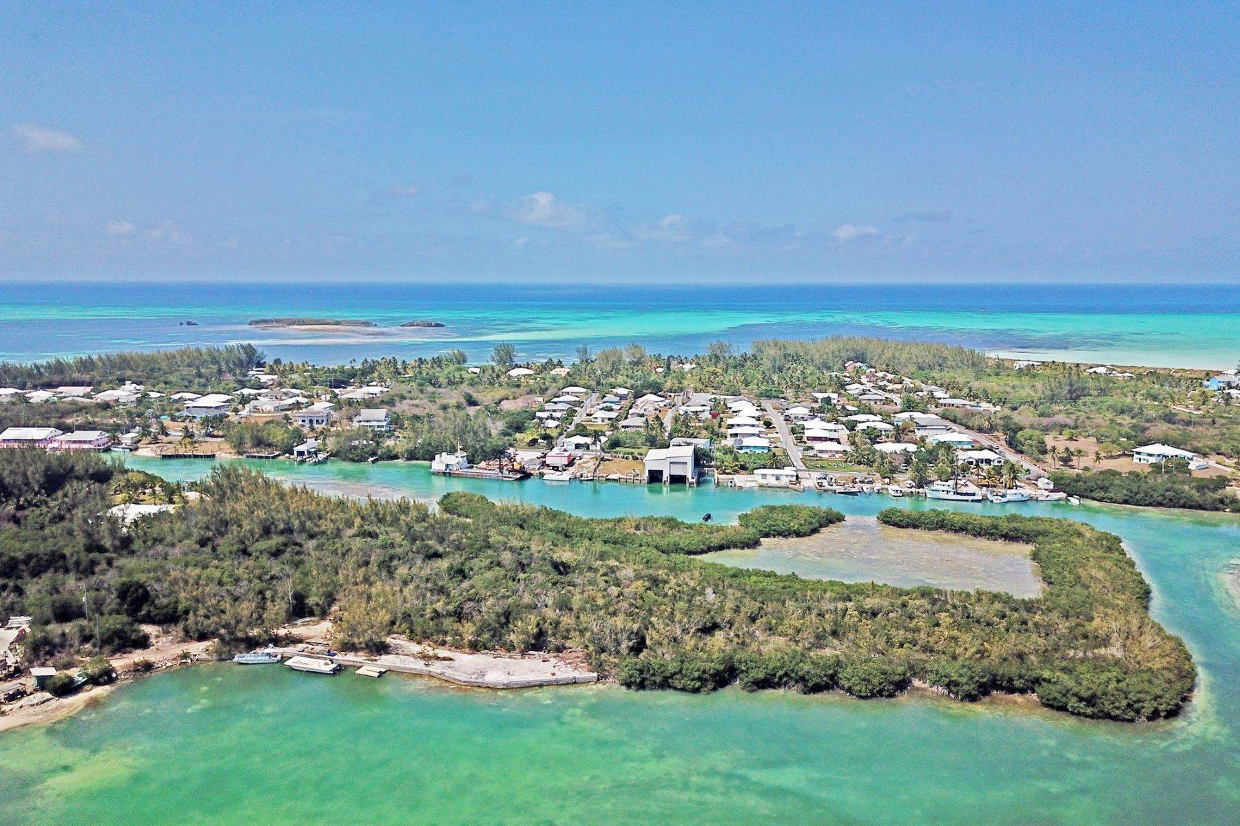 Land for Sale at 6.8 Acres with Dock Russell Island, Spanish Wells, Eleuthera Bahamas