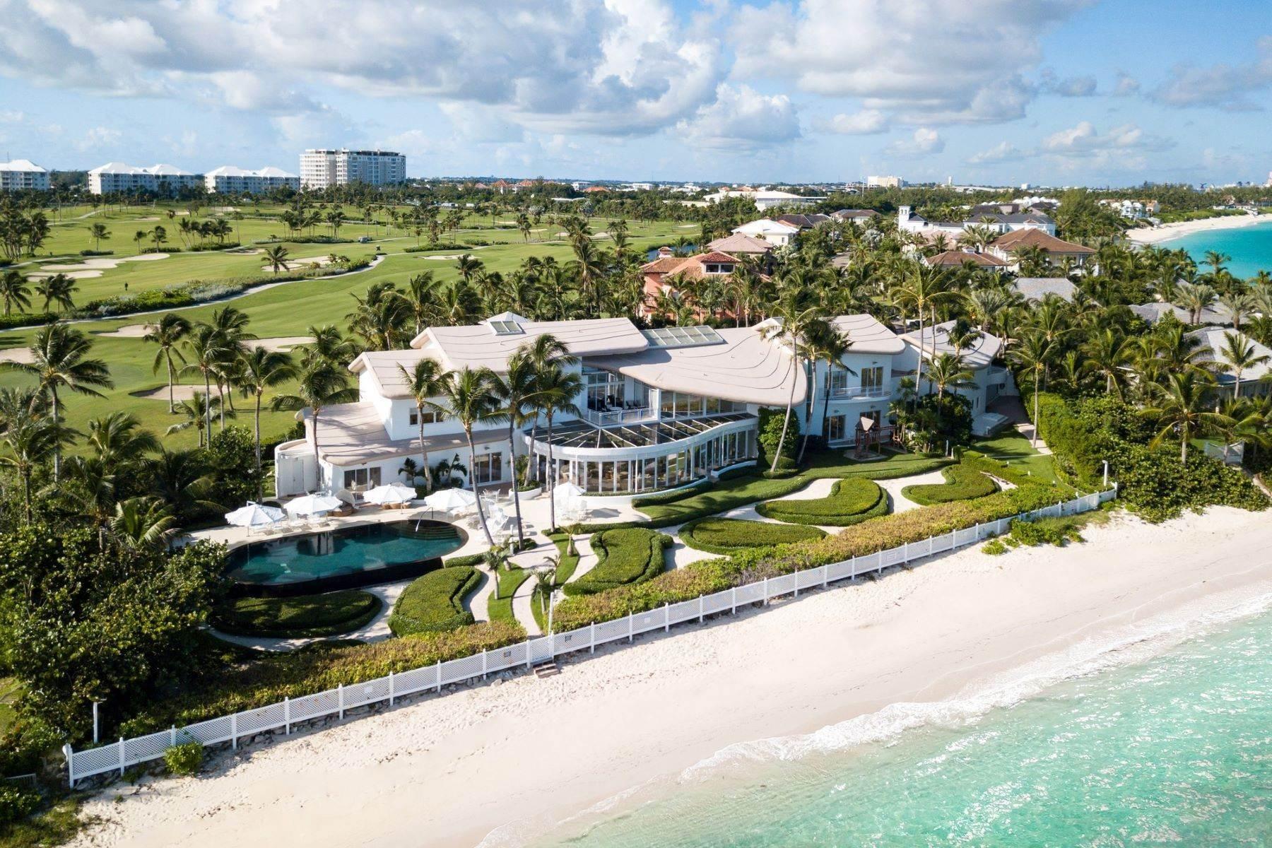 Villa Tarka North Shore Terrace Paradise Island Sotheby S Bahamas Mls