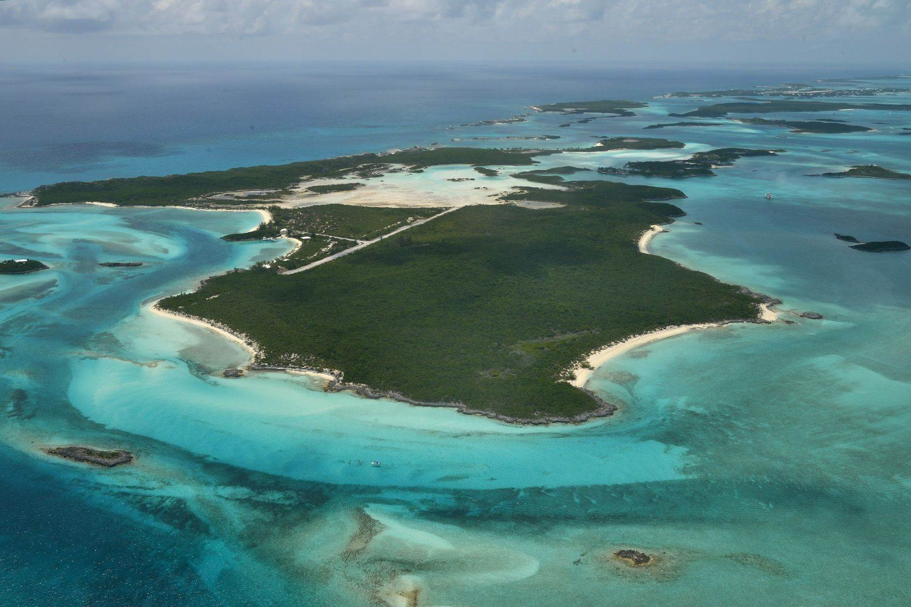 Private Islands for Sale at Sampson Cay, Exuma Cays, Exuma Bahamas