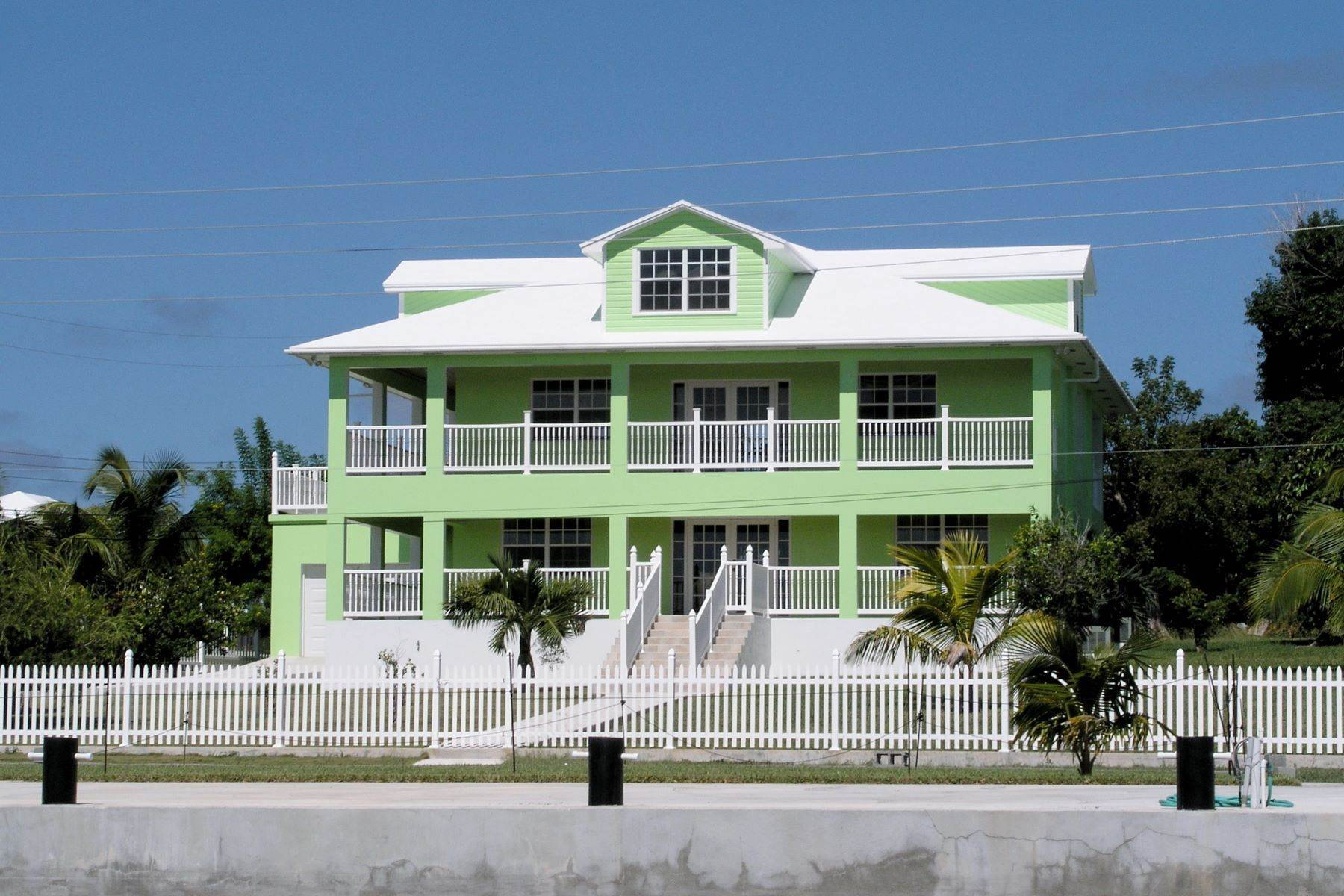 Single Family Homes for Sale at Seaside Villa - Harbour Front Spanish Wells, Eleuthera Bahamas